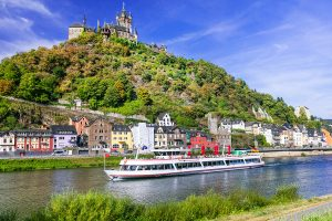 Romantic river cruise Cochem, Germany