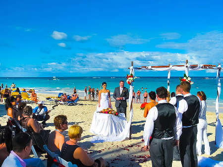 Beach wedding Punta Cana
