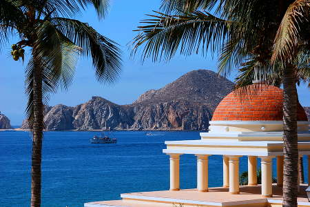 View of Cabo San Lucas, Mexico