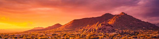 Desert landscape Scottsdale, Arizona