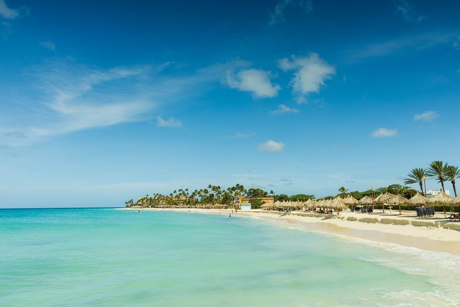 Aruba Island Beach