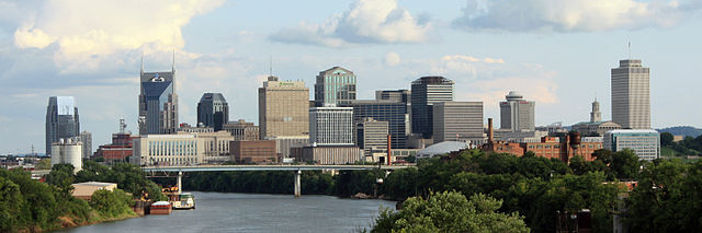 Panorama of the Nashville Skyline