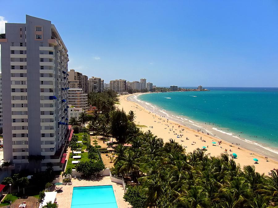 Isla Verde Beach In San Juan, Puerto Rico
